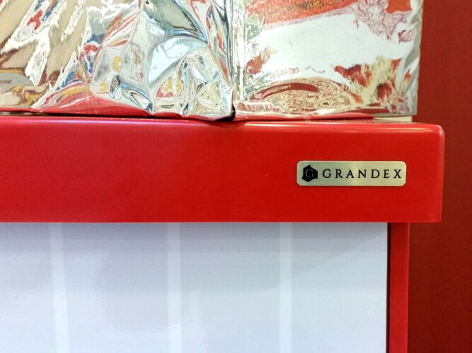 Столешница Grandex P-107 Pure Red